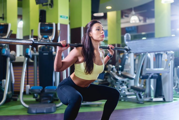 Fitness schema bilspieren
