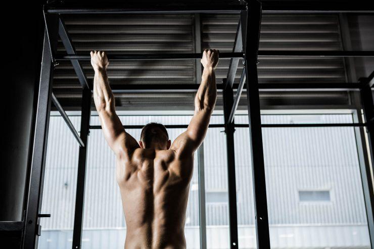 Fitness schema rugspieren