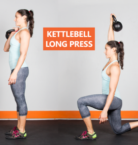 Kettlebell-long-press