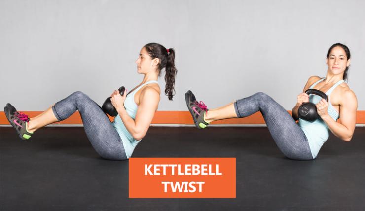 Kettlebell-twist