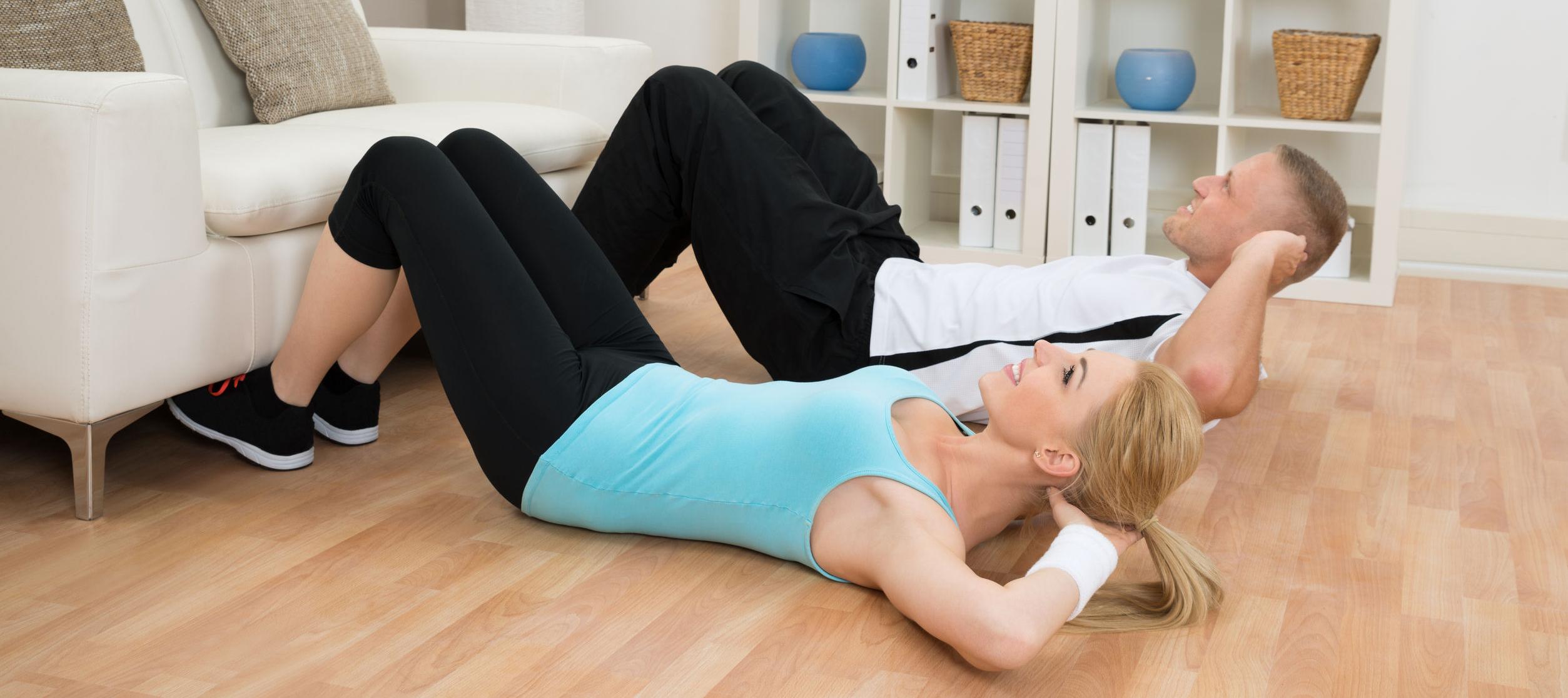yoga afvallen buik