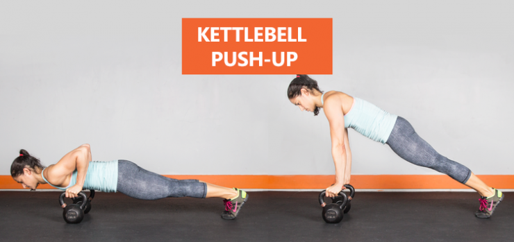 kettlebell-push-up