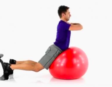 Balance Ball Back Extension