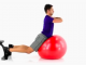 Balance Ball Back Extension